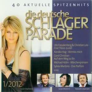 Die deutsche Schlagerparade 1/2012