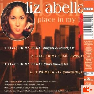 Liz Abella - Place in my heart